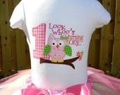 Girls Owl Birthday Shirt - Personalized