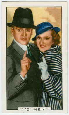G-men. NYPL Digital Gallery - James Cagney and Margaret Lindsay