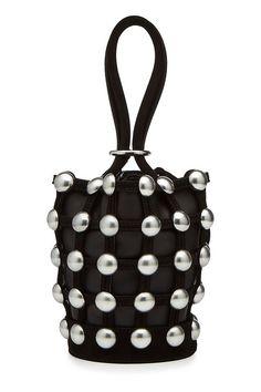 Embellished Leather Shoulder Bag | Alexander Wang