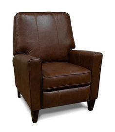 Ellen Leather Power Hi-Leg Recliner by England at Crowley Furniture in Kansas City