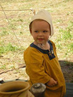 little viking boy