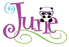 La panda que lee: WELCOME JUNE!