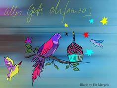 ohfamoos hat Geburtstag. Wir sind ein Jahr alt und danken unseren treuen Lesern!