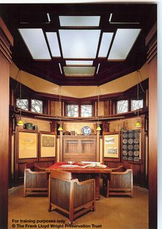 1000 images about flw home studio on pinterest frank lloyd wright homes oak park illinois. Black Bedroom Furniture Sets. Home Design Ideas