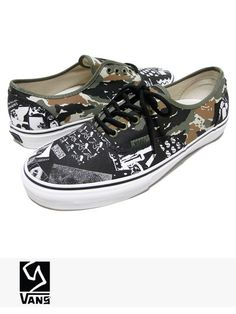 VANS CLASSIC x WEIRDO DAVE NEW Casual Camo China Girl Canvas Sneakers Shoes 9 #VANS #Skateboarding