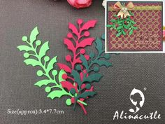AlinaCraft METALLO TAGLIO MUORE foglia di natale berry album di carta di Scrapbooking del mestiere di carta pugno stencil art cutter|Fustelle| - AliExpress Stencil Art, Stencils, Berry, Christmas Leaves, Scrapbook Paper Crafts, Scrapbooking, Album, Metallica, Cardmaking