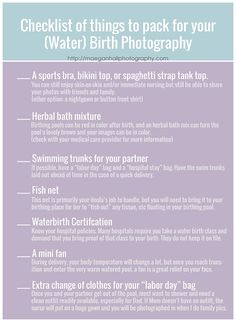 hospital bag checklist for water birth photography I maegan hall photography I a. hospital bag checklist for water birth photography I maegan hall photography I a. Labor Hospital Bag, Hospital Bag Checklist, Pregnancy Labor, Pregnancy Quotes, Birth Doula, Water Birth, Childbirth Education, Birth Photography, Newborn Care
