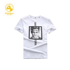 b602f96c0 Field Base Super Men Tshirt O neck Tees Summer T Shirt Fitness Male Cotton  Print T Shirt Plus Size 6XL Leisure Men T Shirt Short-in T-Shirts from Men's  ...