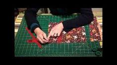 How to make a reversible bag, via YouTube.
