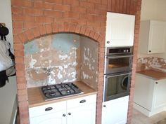 oven built into chimney breast - Google Search