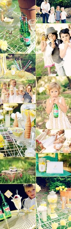 Vintage Ice Cream Social  ~Parties~ {Z's the Day Photo}