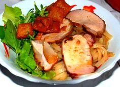 Cao Lau - #HoiAn food Vietnam recipe