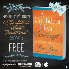 Happy Valentine's Day!! I have a gift for {YOU} --> #AConfidentHeart #Devotional eBOOK is #FREE until midnight tonight {Feb 14, 2014} I hope you'll grab a copy and #LetGodLoveYou in big ways this Valentine's Day.  http://reneeswope.com/2014/02/free-confident-heart-devotional-ebook-today-only-2/