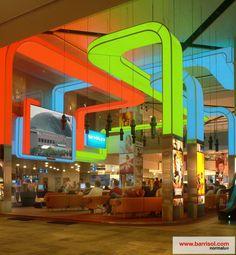 Barrisol Lighting 3D form : realizations