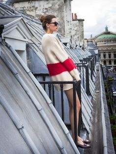 Parisian chic // http://www.hithaonthego.com/this-week-3/