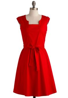 Ignite the Night Dress. Some people don't know how to live it up. #red #modcloth
