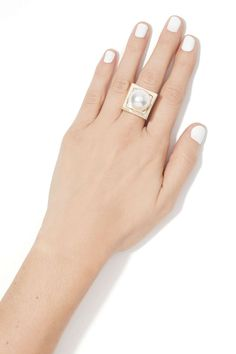You Go Pearl Ring//