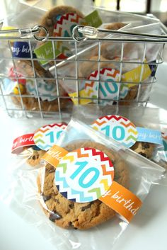 A Big Ten Celebration {with Free Printables}Less-Than-Perfect Life of Bliss:- like this idea my sons big ten b-day is on his first day of school so good idea :)