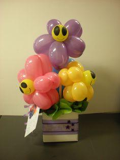 balloon art bouquet - Google Search