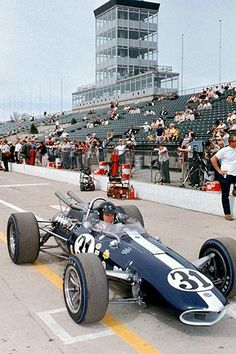 1966 Indy Eagle - Dan Gurney - Indianapolis 500 - Photo Poster