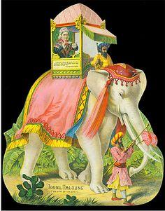Atlantic & Pacific Tea Co.- Victorian Antique Trade Card