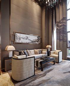 72 Contemporary & Modern Living Room Design Ideas For 2019 Office Interior Design, Luxury Interior, Modern Interior, Contemporary Bedroom, Contemporary Furniture, Contemporary Building, Contemporary Wallpaper, Contemporary Chandelier, Contemporary Garden