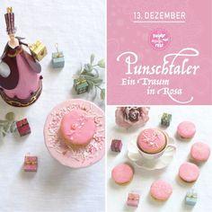 Kekserl-Adventskalender: 24 Keksrezepte zum Downloaden - sugar&rose Place Cards, Place Card Holders, Advent Calenders