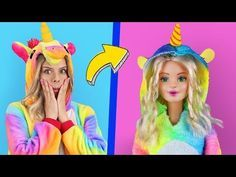 6 Clever Barbie Hacks And Lol Surprise Hacks Troom Troom Characters As Dolls Youtube Barbie Dolls Diy Barbie Unicorn Barbie