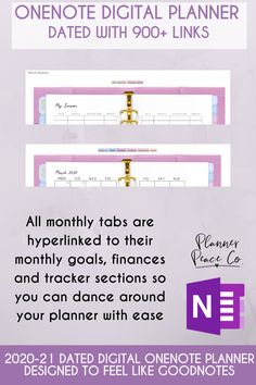 2020 dated OneNote Planner with hyperlinks, Windows Planner, Surface Planner, Android Best Planner App, Planner Tabs, Best Planners, Blog Planner, Onenote Template, Planner Template, One Note Microsoft, Microsoft Surface, Organisation