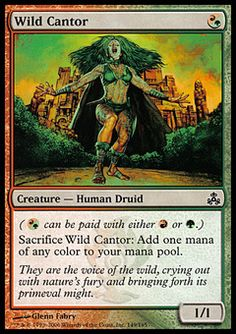 Wild Cantor ($.24) Price History from major stores - Guildpact - MTGPrice.com Values for Ebay, Amazon and hobby stores!