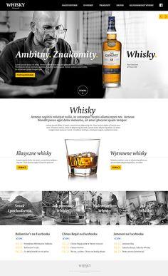 Whisky on Web Design Served