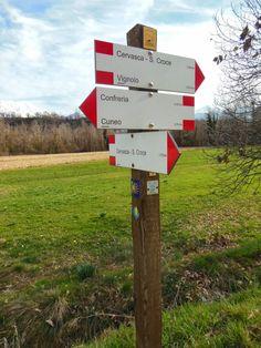 Cuneo e dintorni: Percorso dell'Antica Via di Vignolo del Parco Fluv...