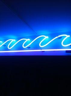 Neon ocean.