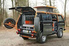 Custom VW Van.