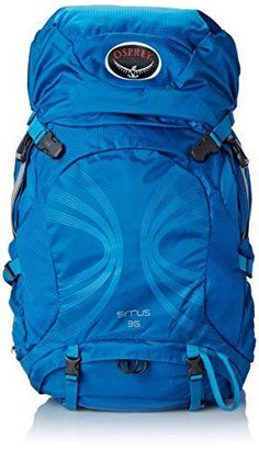 Osprey Packs Womens Sirrus 36 Backpack, Summit Blue, X-Small/Small #Osprey