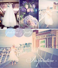 Pale blue/pastel blue wedding inspiration board...