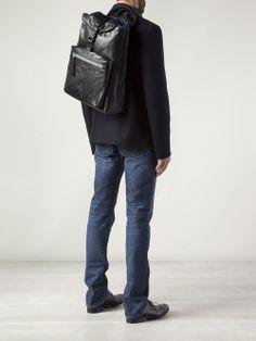 Lanvin single back strap backpack #wonderfulstore