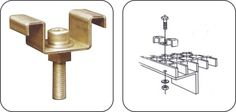 The M-Type Clip is used to secure fibreglass grating to a angel iron frame. Fasteners, Iron, Angel, Type, Frame, Picture Frame, Frames, Steel, Angels