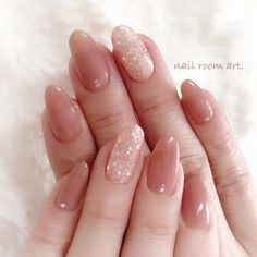 nails - nail room art in 2020 Elegant Nail Designs, Elegant Nails, Stylish Nails, Trendy Nails, Cute Nails, Office Nails, Korean Nail Art, Asian Nail Art, Korean Nails