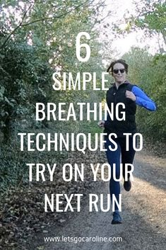 6 simple breathing techniques to try on your next run (breathing for runners + running tips) When I first started running, I didn't give a second thought to my breathing. It's an involuntary process that your body just does naturally,… Continue Reading → Running Workouts, Running Tips, Running Training, Trail Running, Running Songs, Running Schedule, Treadmill Running, Song Workouts, Endurance Training