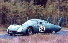 Le Mans 1967 - CD Peugeot (André Guilhaudin / Alain Bertaut) > Retired at Midnight (con rod) Crazy Cars, Weird Cars, Vintage Auto, Vintage Cars, Matra, Race Day, Auto Racing, Le Mans, Alps