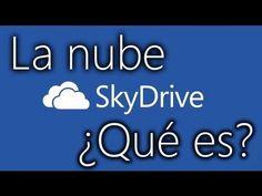 La nube ¿Qué es? Skydrive - Cómo usarlo - YouTube