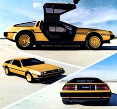 1981 De Lorean (Gold Plated)  by aldenjewell, via Flickr. Only 2 made!