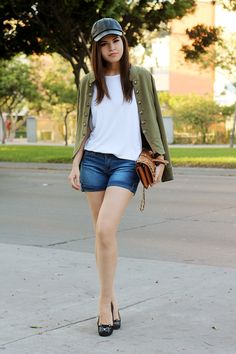 Leather cap - Fake Leather | Personal Style Blog