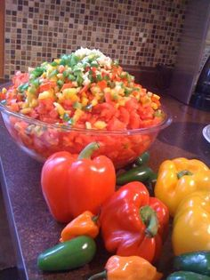 Zesty Salsa For Canning Recipe - Food.com - 97428