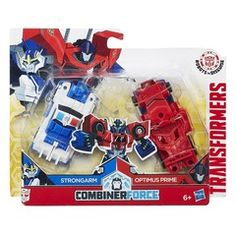 Hasbro Transformers Robots In Disguise Combiner Force - Strongarm/Optimus Prime (C0629Eu40)