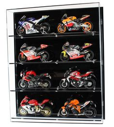 Wall Mounted Display Cases with Multiple Shelves > Wall Display Cabinets > Widdowsons Ltd