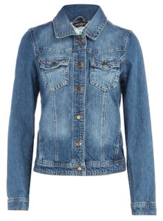 jean jackets for women plus size | PLUS Trend Of The Day…Dark Wash Denim Jacket From DorothyPerkins.com ...