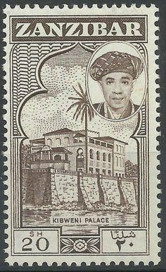 Zanzibar 20shs 1961