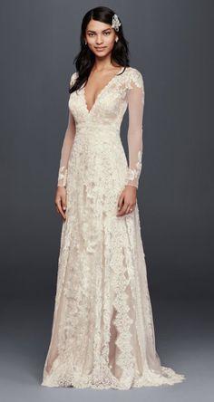 Lace Ivory Wedding Dress